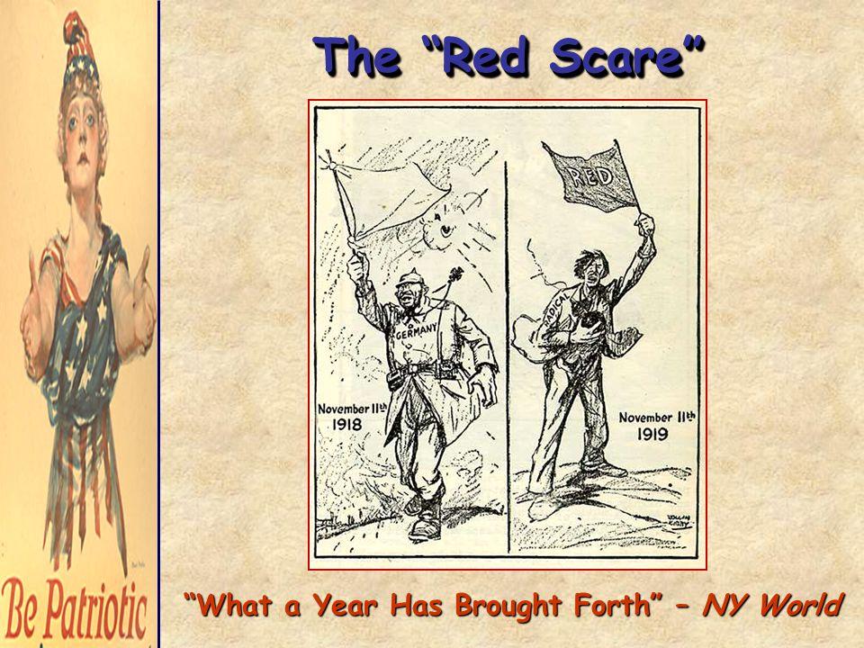 Police Arrest Suspected Reds' in Chicago, 1920 Red Scare – Palmer Raids