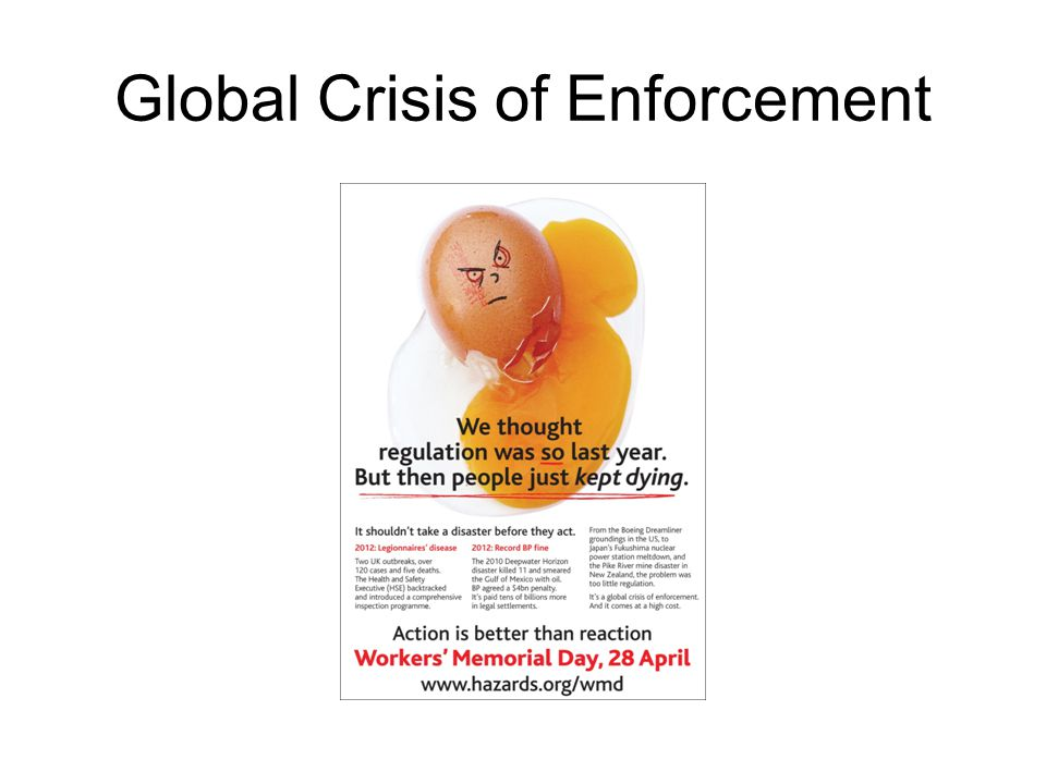Global Crisis of Enforcement