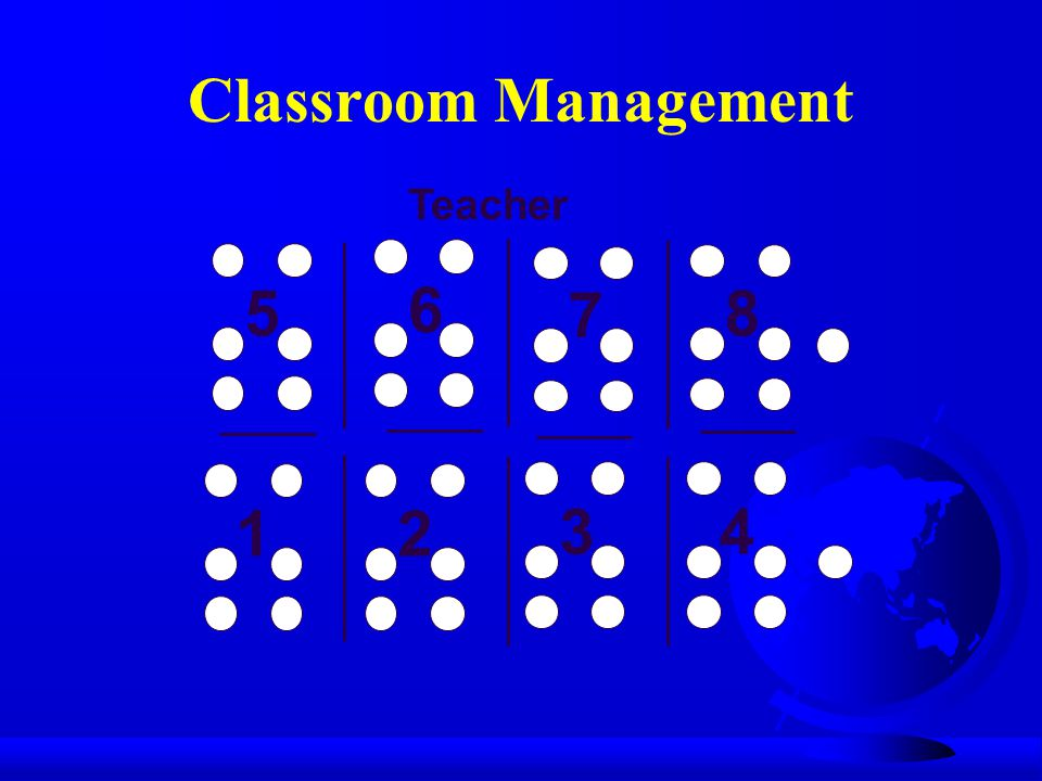 5 6 7 8 12 34 Teacher Classroom Management