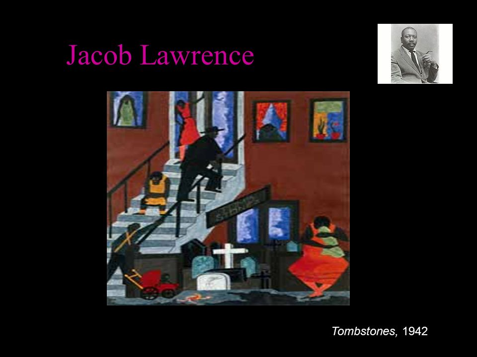 Jacob Lawrence Tombstones, 1942