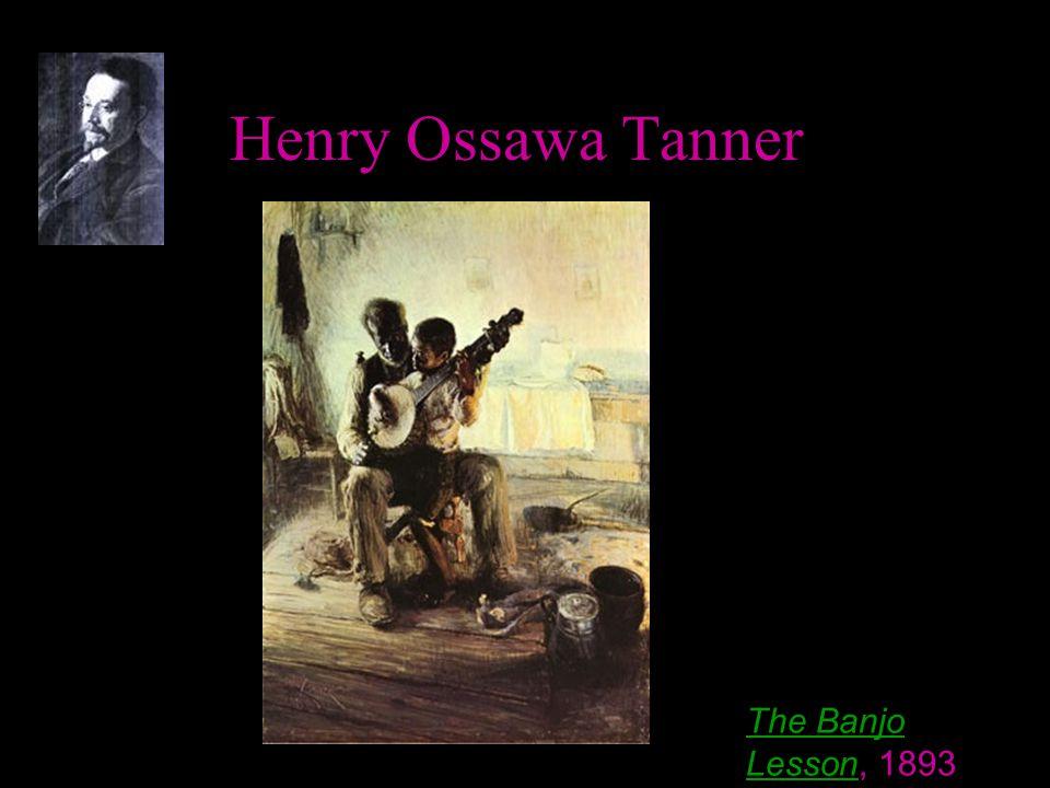 Henry Ossawa Tanner The Banjo LessonThe Banjo Lesson, 1893