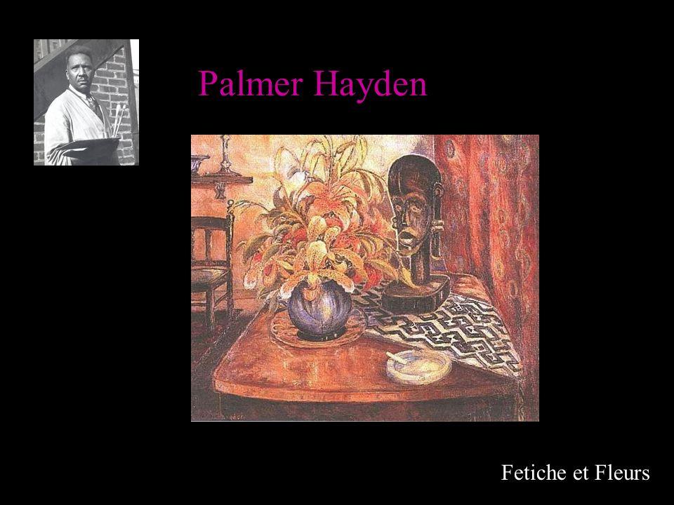 Palmer Hayden Fetiche et Fleurs