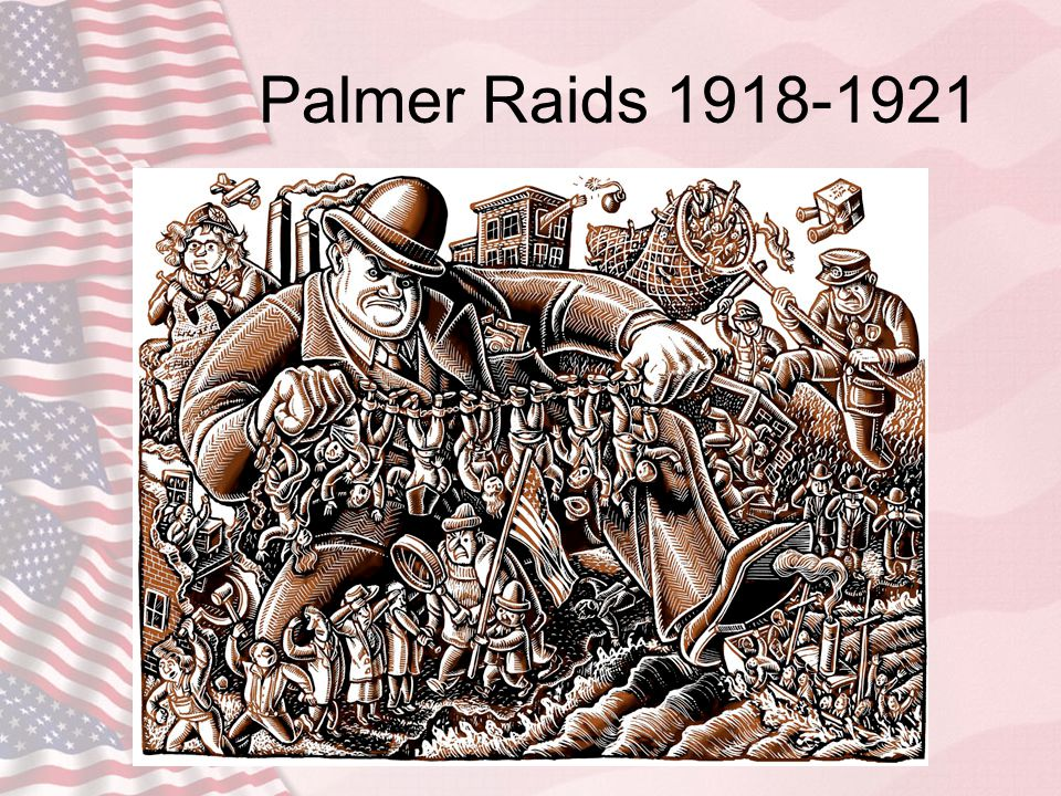 Palmer Raids 1918-1921