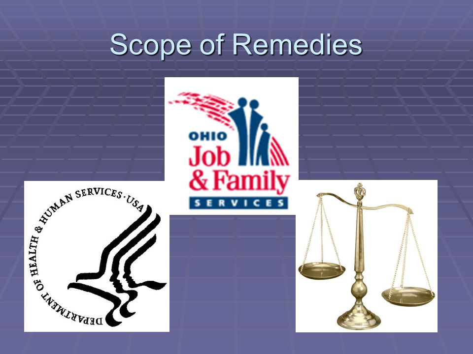 Scope of Remedies