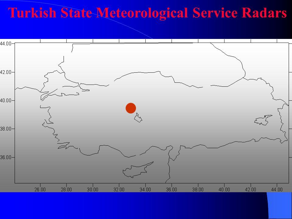 Turkish State Meteorological Service Radars