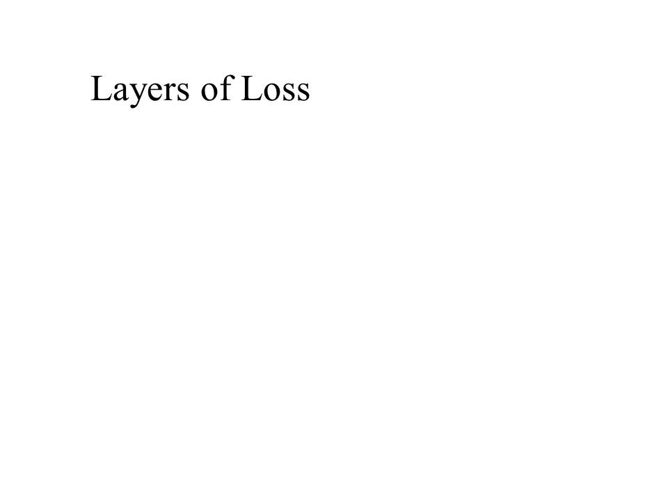 Layers of Loss