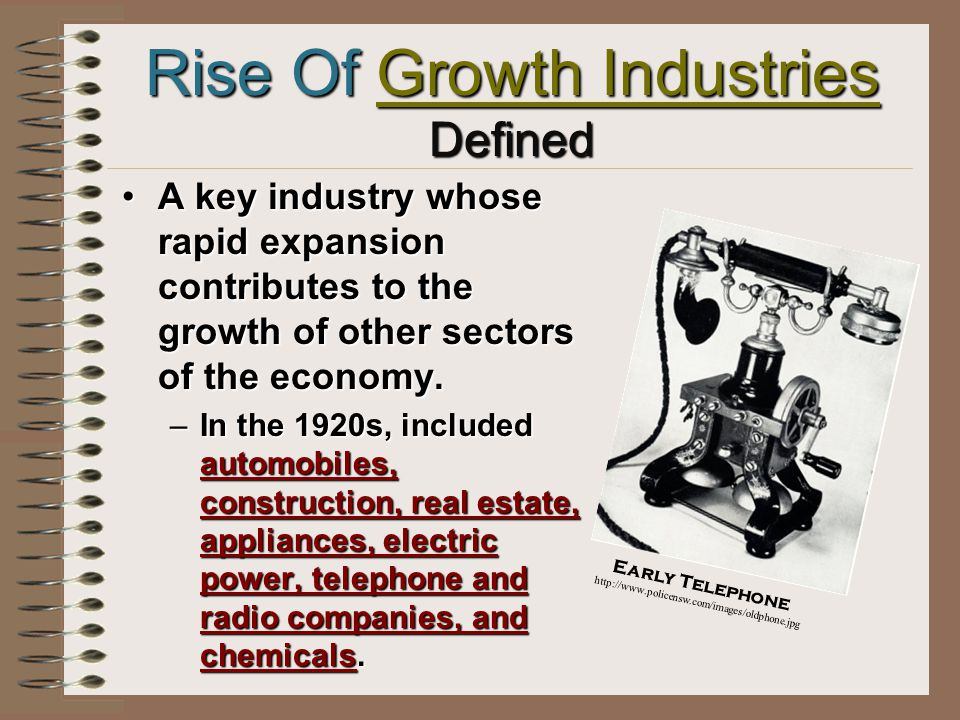 Economic Boom Increased Productivity & Profits Government policies.Government policies.
