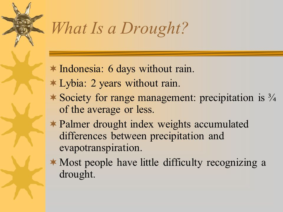 The Role of Ranchers in Drought Response.
