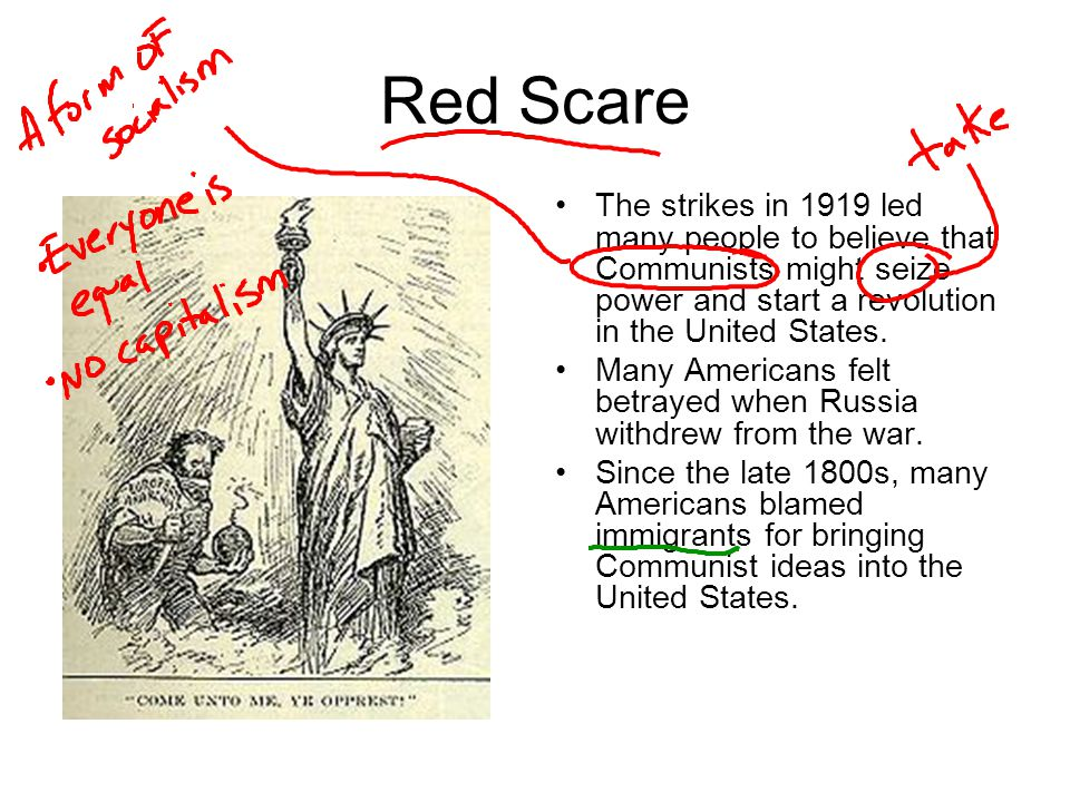 Soviet Union They also blamed immigrants for labor problems and violence.