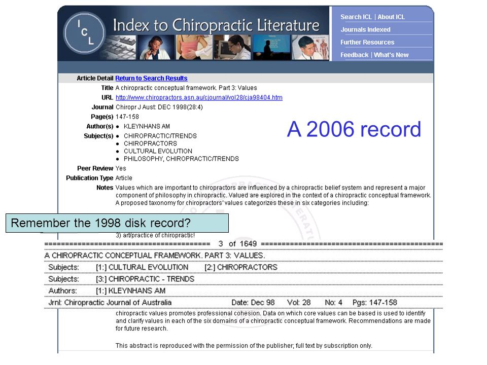 Remember the 1998 disk record? A 2006 record