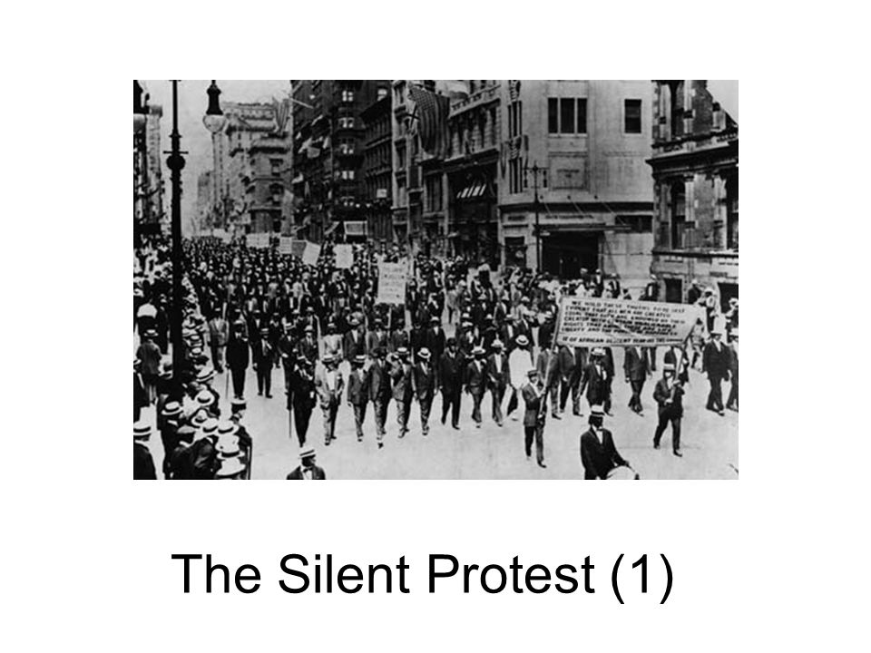 The Silent Protest (1)