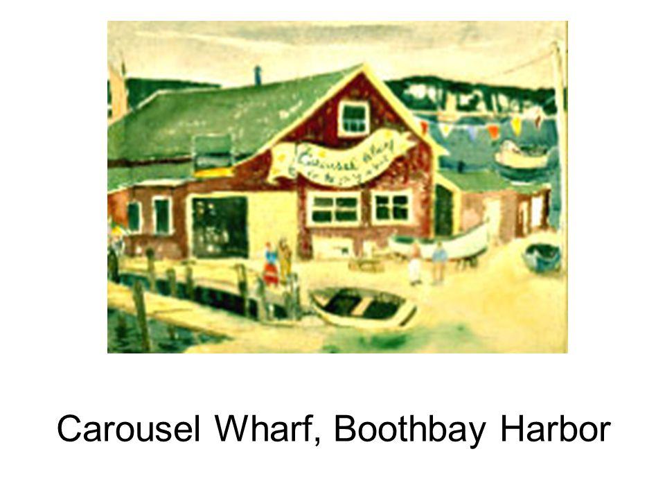 Carousel Wharf, Boothbay Harbor