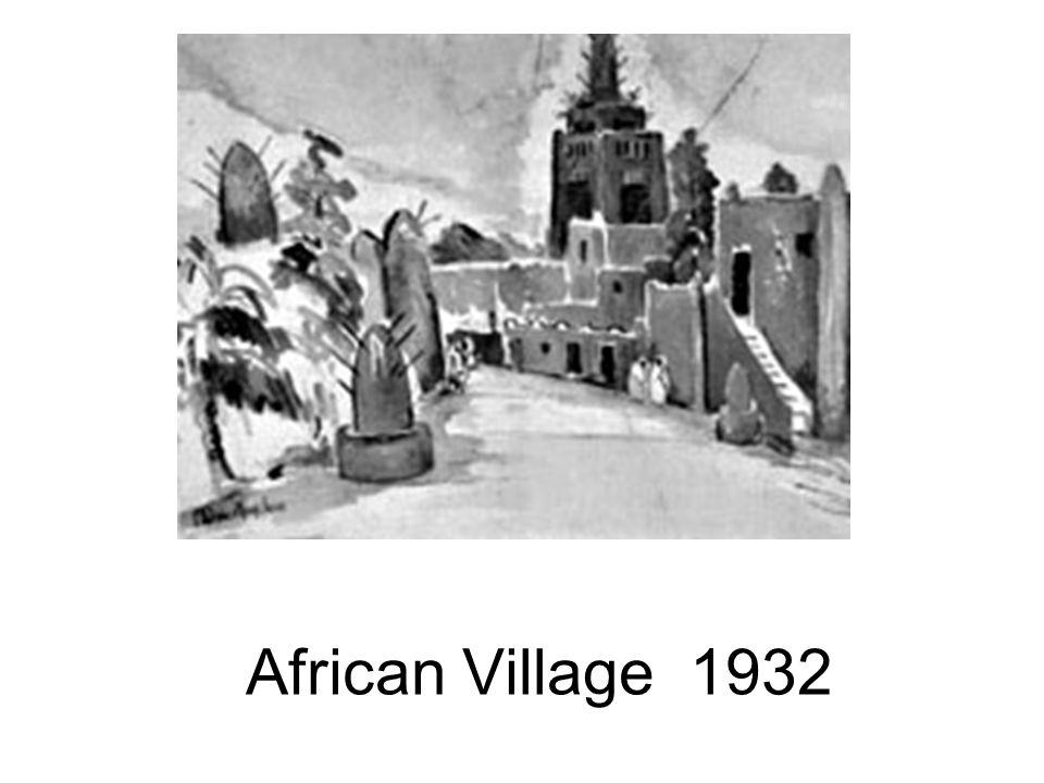 African Village 1932