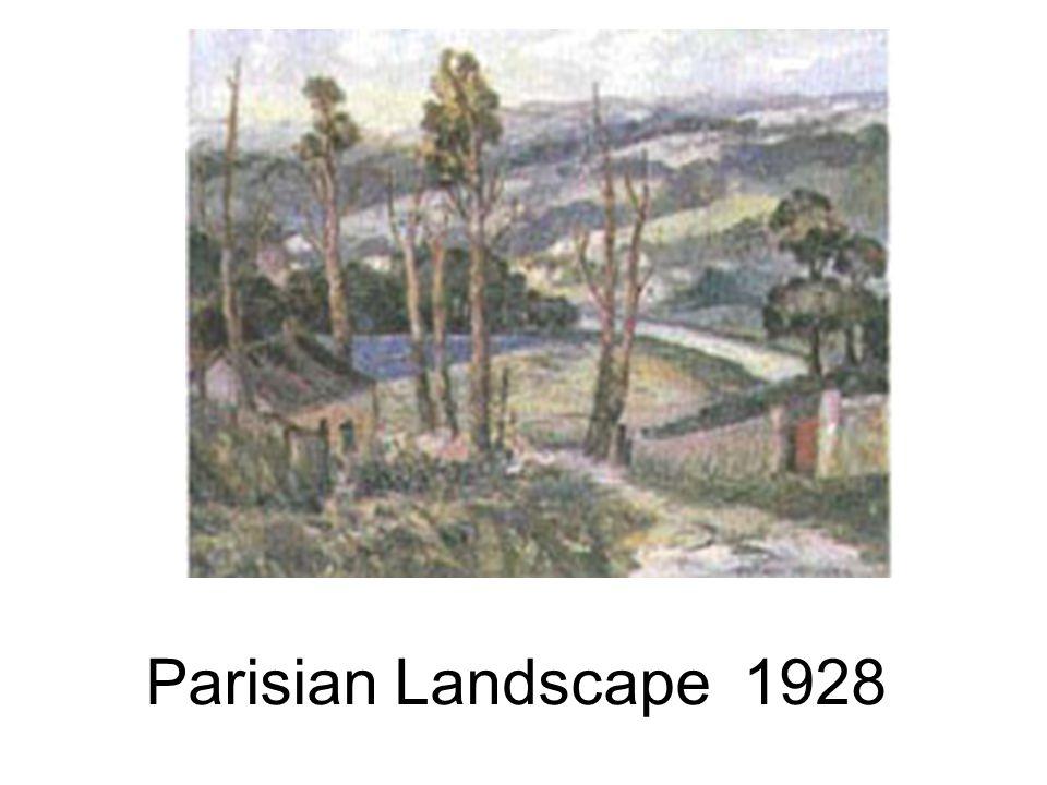 Parisian Landscape 1928