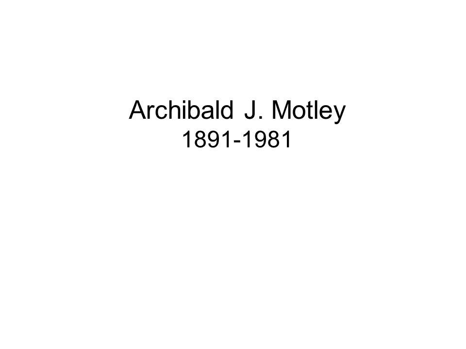 Archibald J. Motley 1891-1981