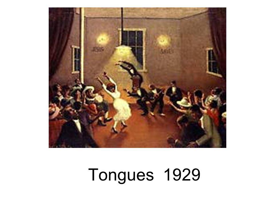 Tongues 1929