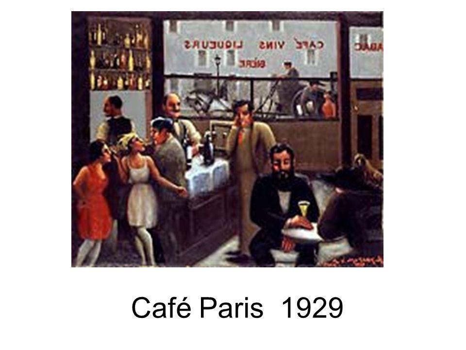 Café Paris 1929