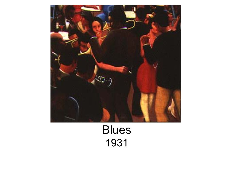 Blues 1931