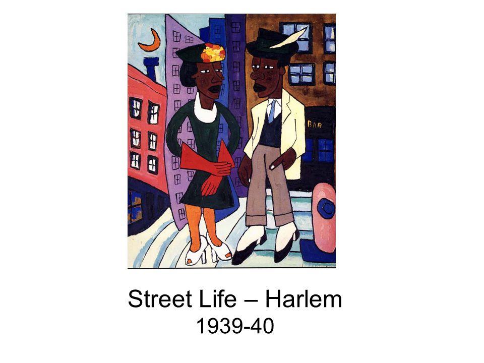 Street Life – Harlem 1939-40