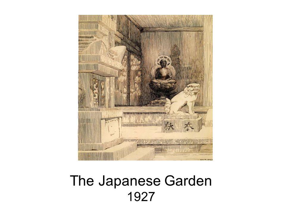 The Japanese Garden 1927