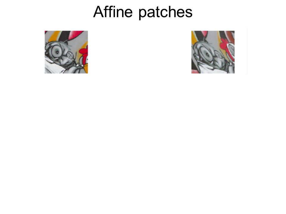 Affine patches