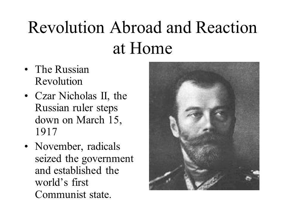 Vladimir Illyich Lenin Vladimir Lenin Established communism in Russia Based on the teachings of Karl Marx and Friedrich Engels