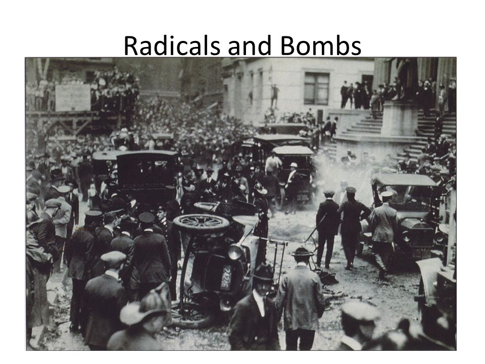 Radicals and Bombs