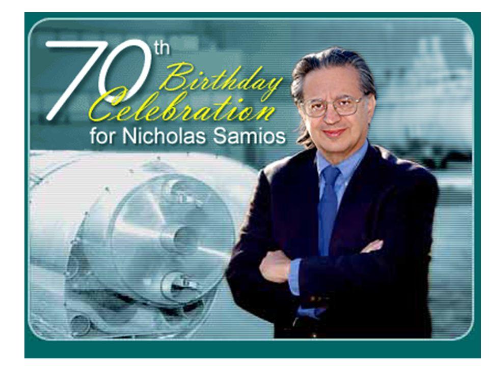 Start of RHIC Contruction April 12, 1991 Patrick Halpin, Presidential Science Advisor D.