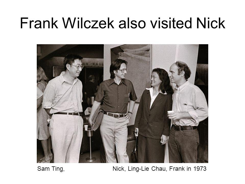 Charlie Baltay was a close collaborator Mike Zeller Bill Willis, 1978