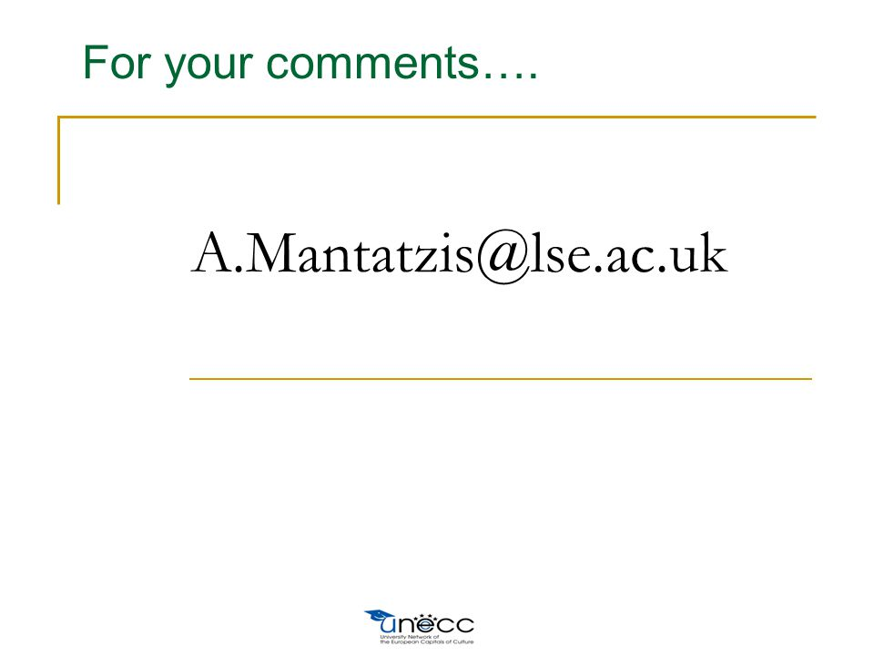 A.Mantatzis@lse.ac.uk For your comments….