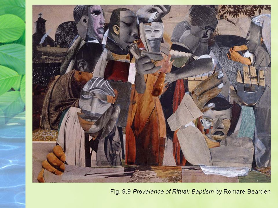 Fig. 9.9 Prevalence of Ritual: Baptism by Romare Bearden