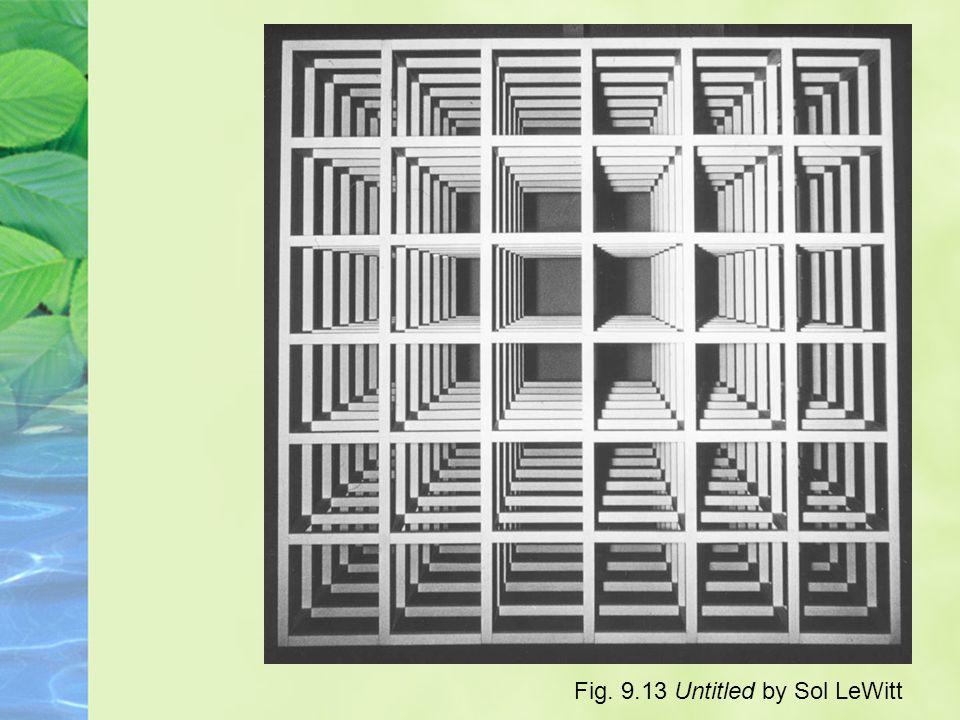 Fig. 9.13 Untitled by Sol LeWitt
