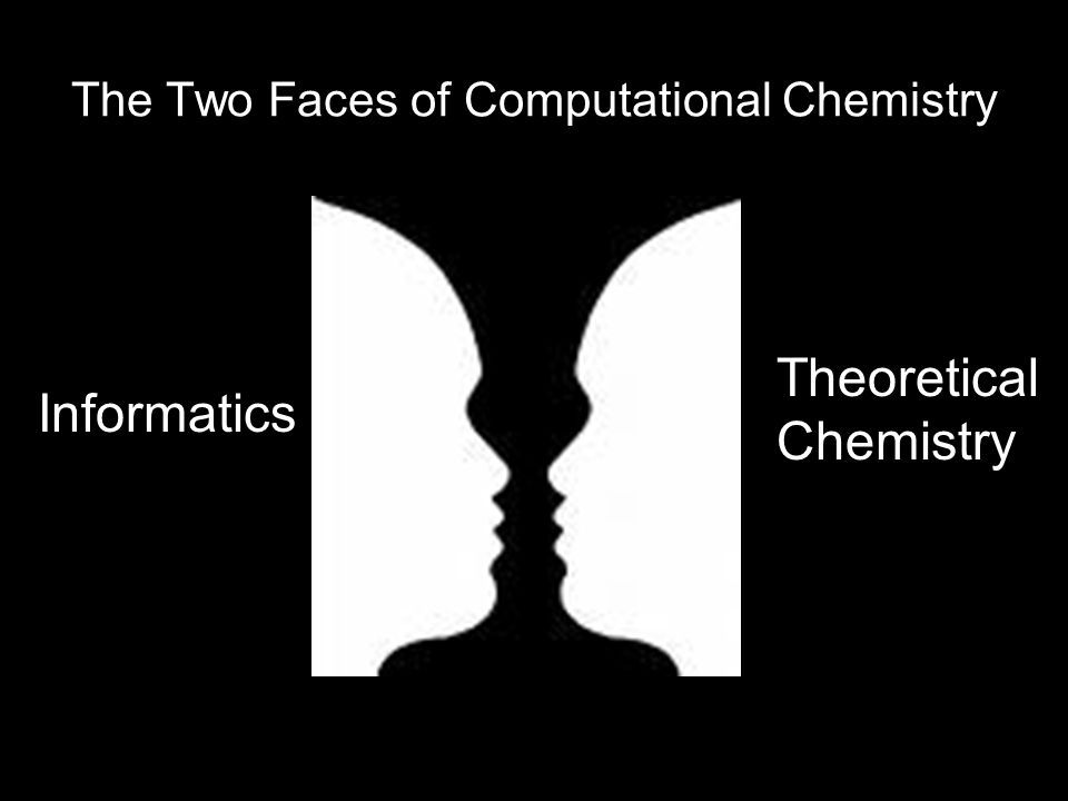 The Two Faces of Computational Chemistry Theoretical Chemistry Informatics