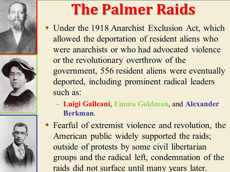 Police Arrest Suspected Reds' in Chicago, 1920 Red Scare – Palmer Raids