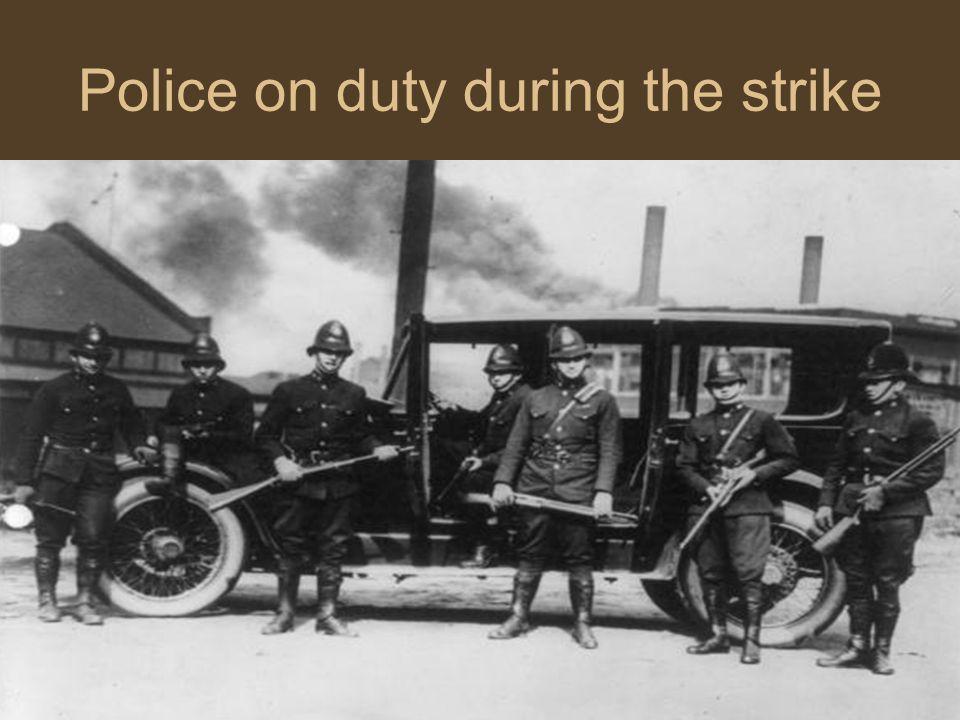 The United Mine Workers Strike The last major strike, the United Mine Workers strike, took place in Nov.