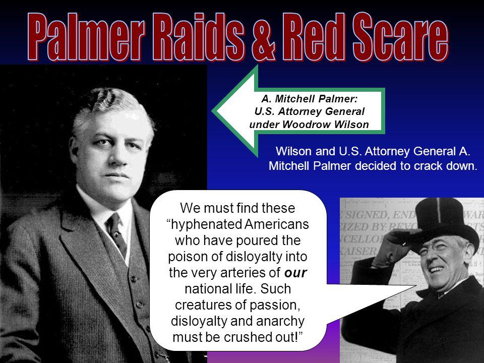 A. Mitchell Palmer: U.S.