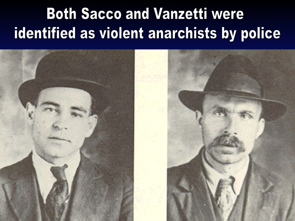 During WWI the U.S. experienced a number of internal terrorist acts