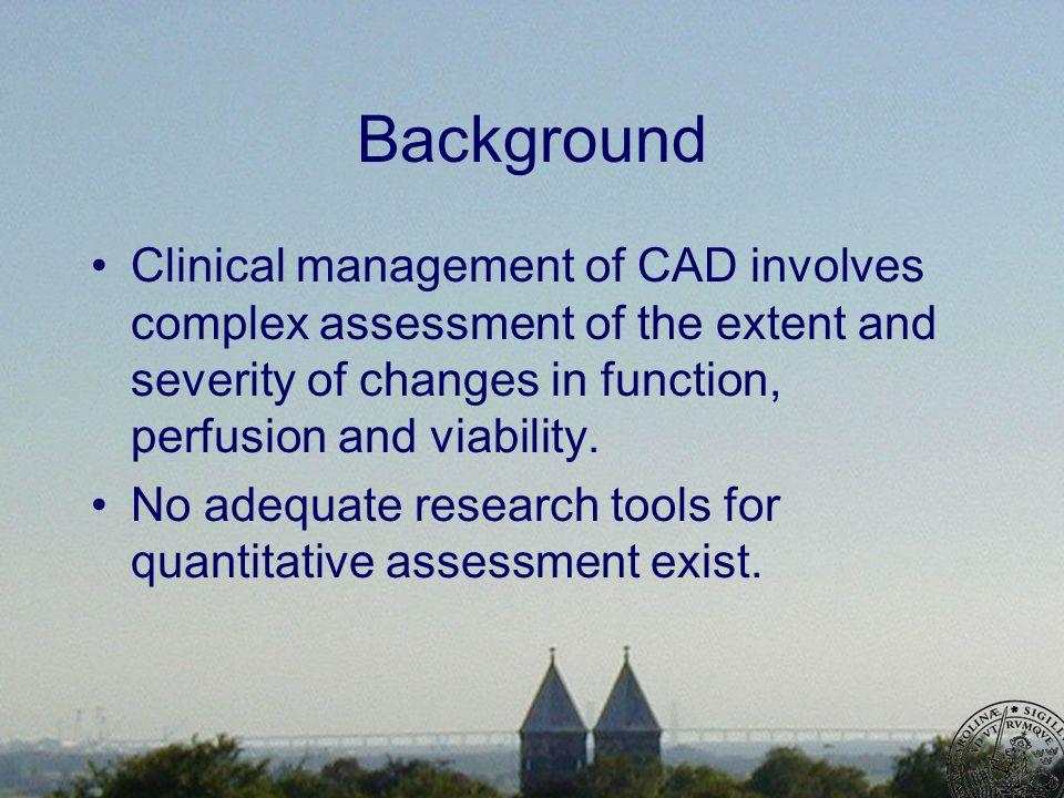 Methods 20 patients –6 months after revascularization –Cine CMR –Delayed enhancement CMR 20 matched controls –Cine CMR