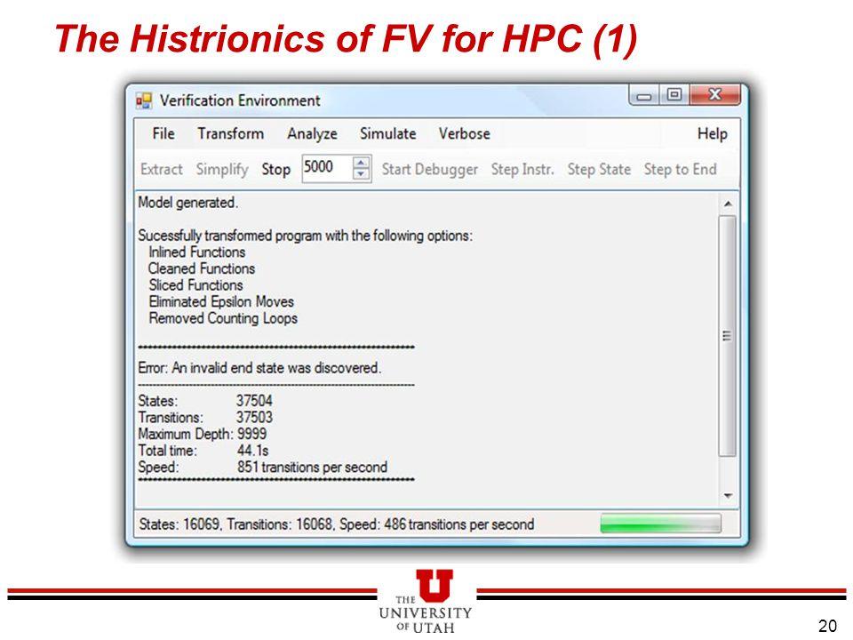 21 The Histrionics of FV for HPC (2)