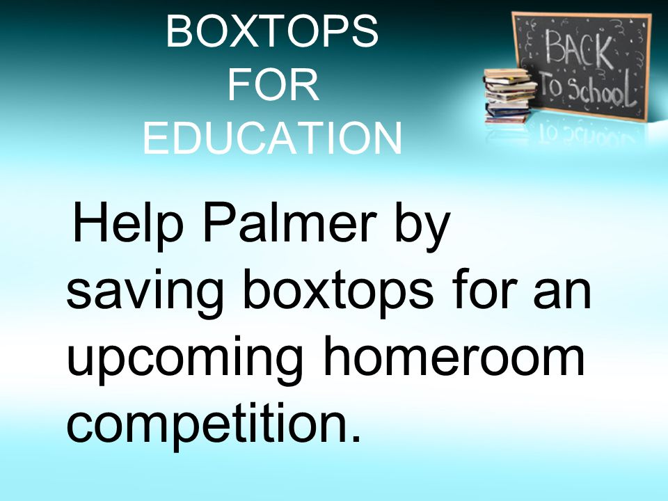 Email address Parents if you would like to receive email updates of upcoming events at Palmer along with information from your homeroom teacher (Mrs.