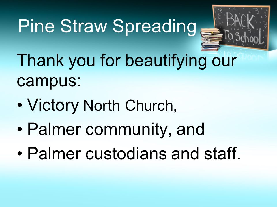 Thanks for coming ! We hope this day has been helpful. You are always welcome at Palmer.