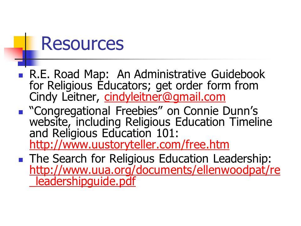 Resources R.E.