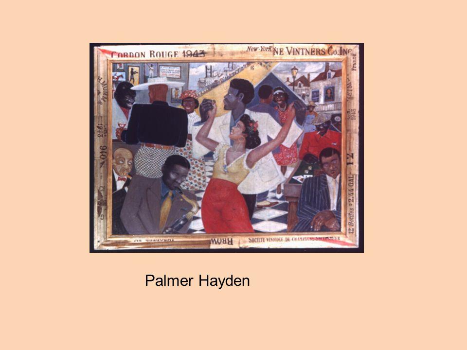 Street Life, Harlem, by William H. Johnson JeunesseJeunesse by Palmer Hayden