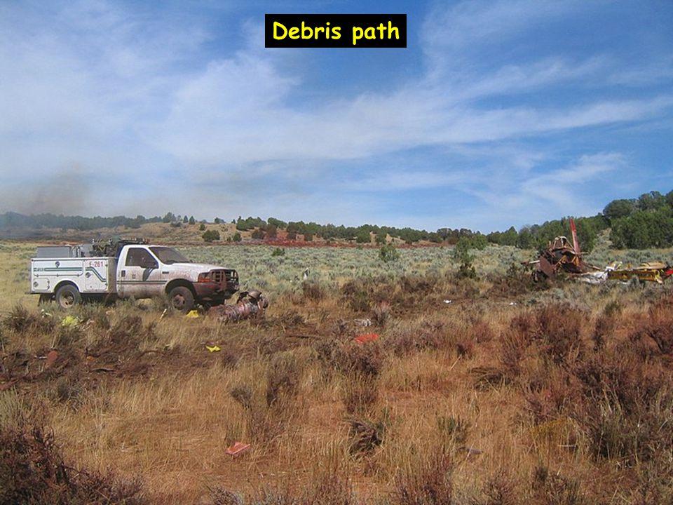 Debris path