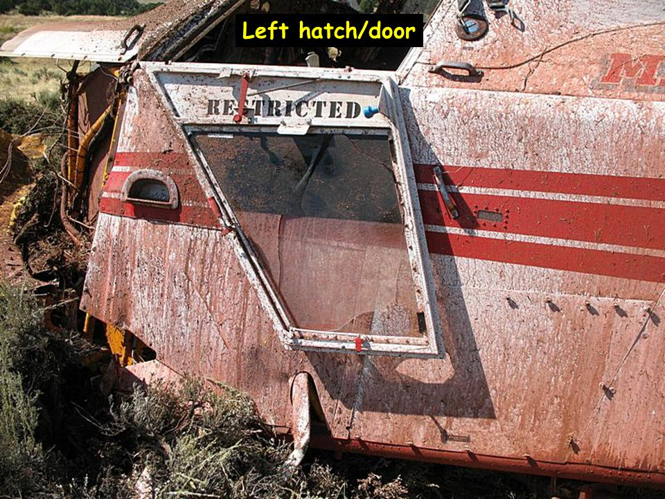 Left hatch/door
