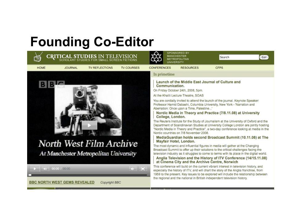 Founding Co-Editor