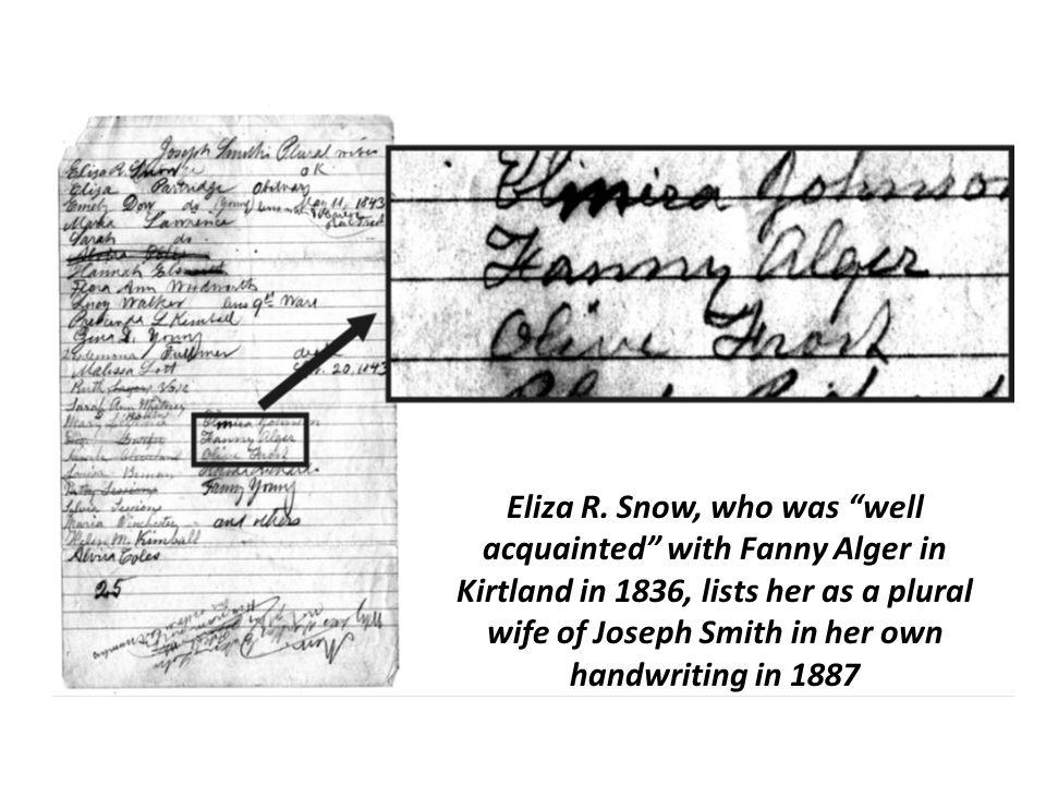 Eliza R.