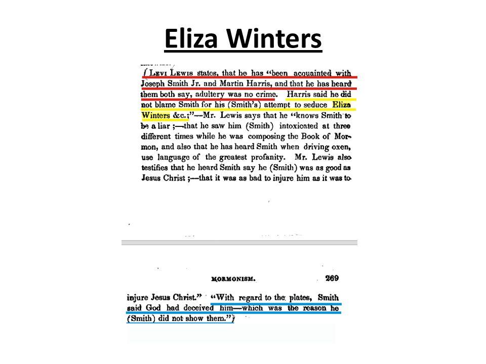 Eliza Winters