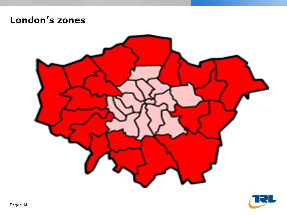 London's zones Page  14
