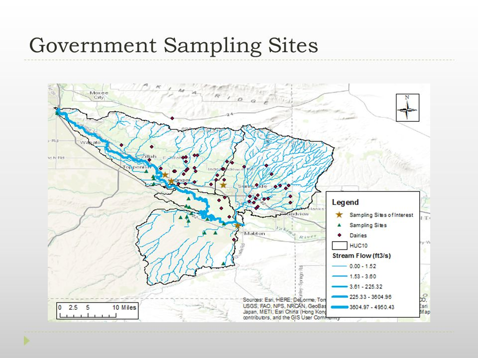 Government Sampling Sites